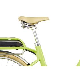 Cube Elly Ride Hybrid 400 Bicicletta elettrica da città Donna Easy Entry verde